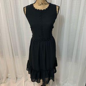 NWT LOFT Outlet Floral Lace Ruffle Dress